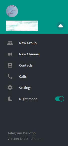 Untitled 30 1 آموزش فعال کردن قابلیت حالت شب یا Night Mode در تلگرام اخبار IT