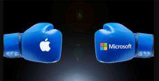 مایکروسافت در برابر اپل