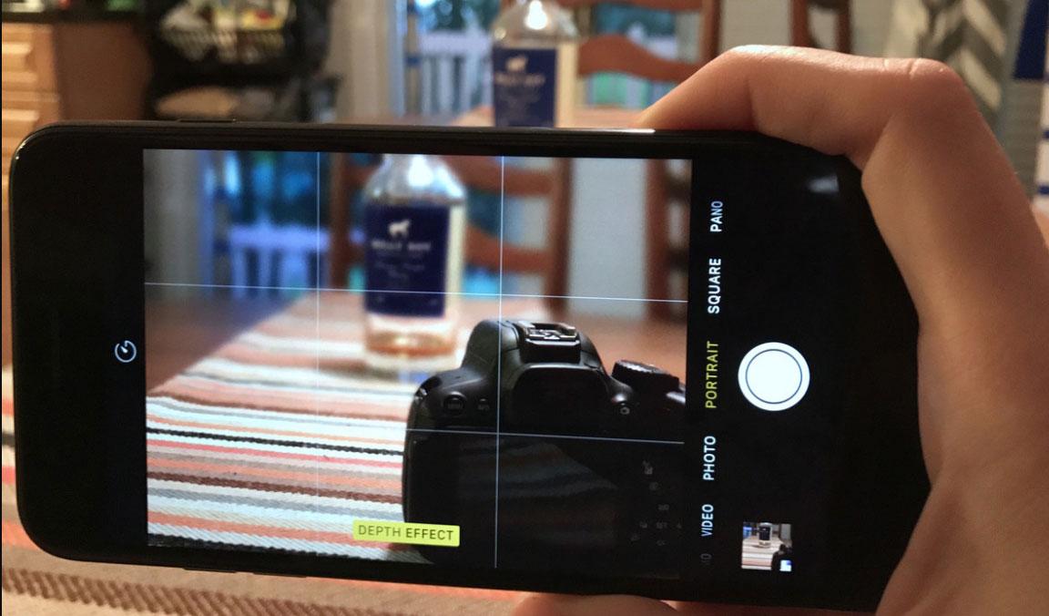 دوربین ایفون 7 پلاس