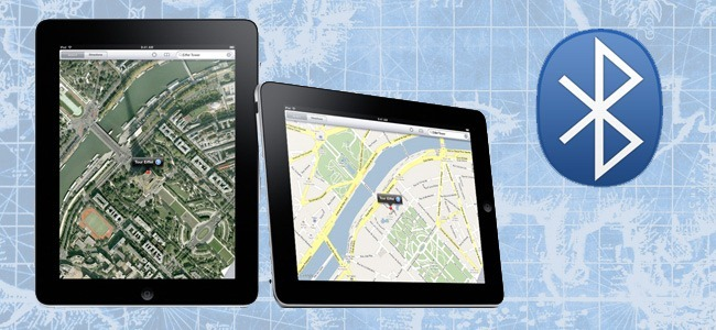 آموزش طریقه اتصال دستگاه GPS به آی پد یا آی فون