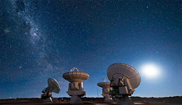 سیگنال ناشناخته فضایی