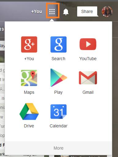 نحوه گروهی سازی اپلیکیشن های گوگل در Gmail