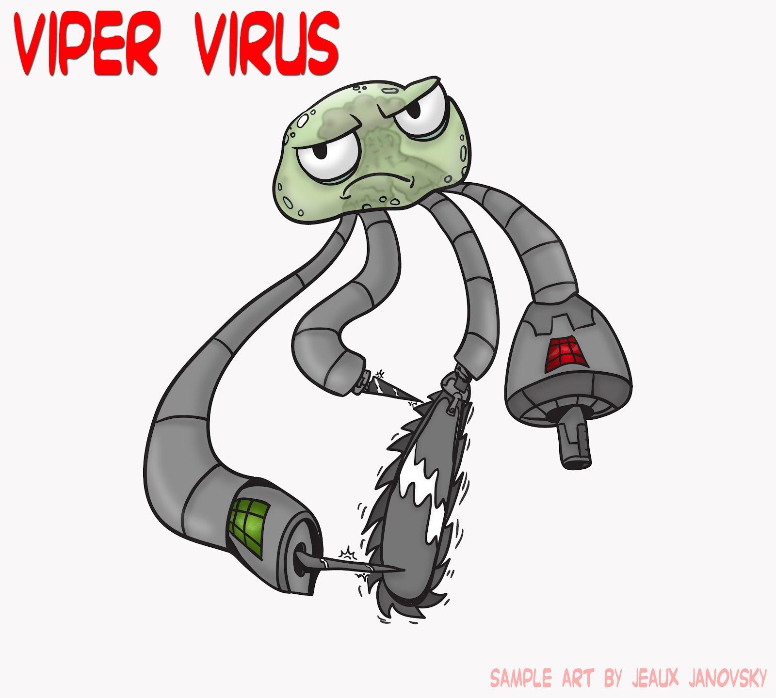 شناخت و پاک سازی ویروس Viper