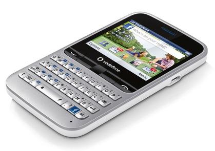 گوشی Vodafone 555 Facebook با دکمهی مخصوص Facebook و کیبرد QWERTY