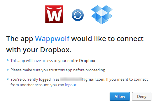 Wappwolf For Dropbox 3