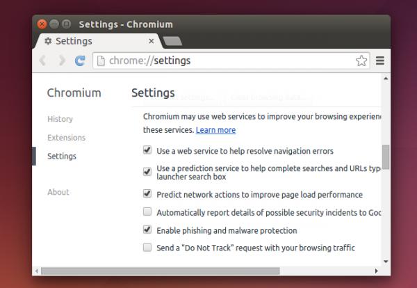 مرورگرهای Chromium و Chrome
