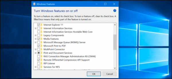 "What Windows 10's ""Optional Features"" Do, and How to Turn Them On or Off"
