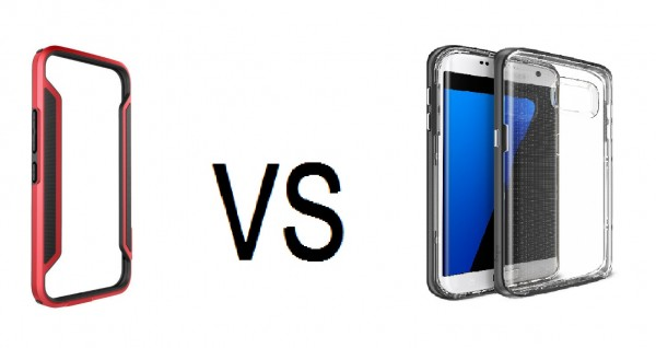 What is the difference between the phone and the phone bumper frame