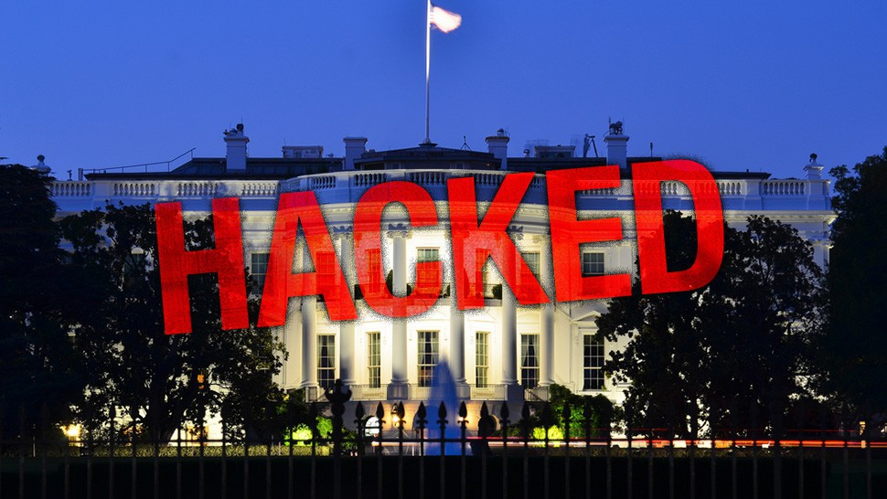هک وب سایت کاخ سفید