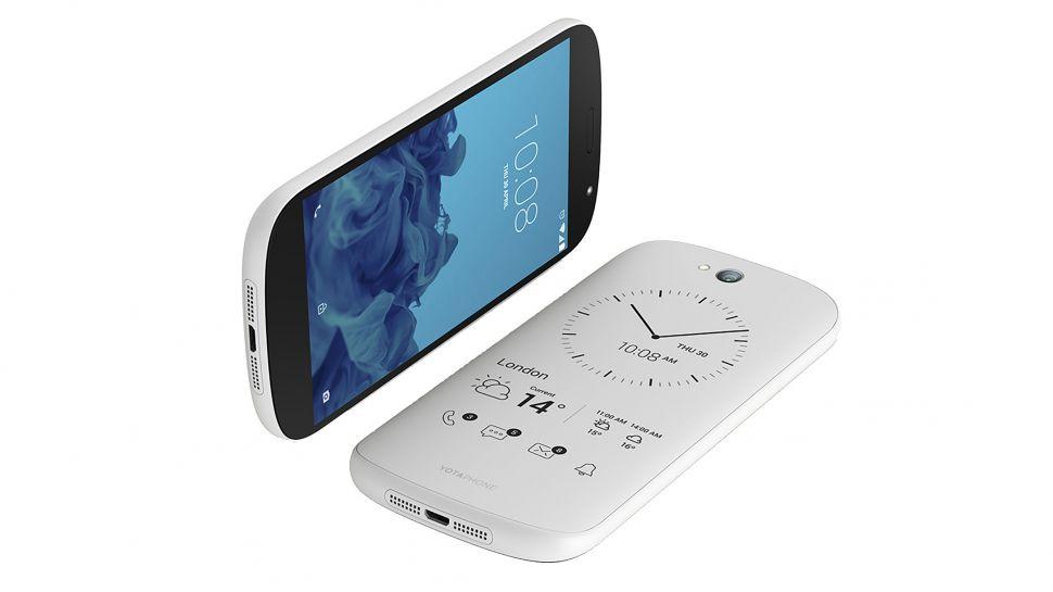 Yotaphone 2 یک گوشی با دو صفحه نمایش