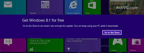 بروز رسانی ویندوز 8 به ویندوز 8.1