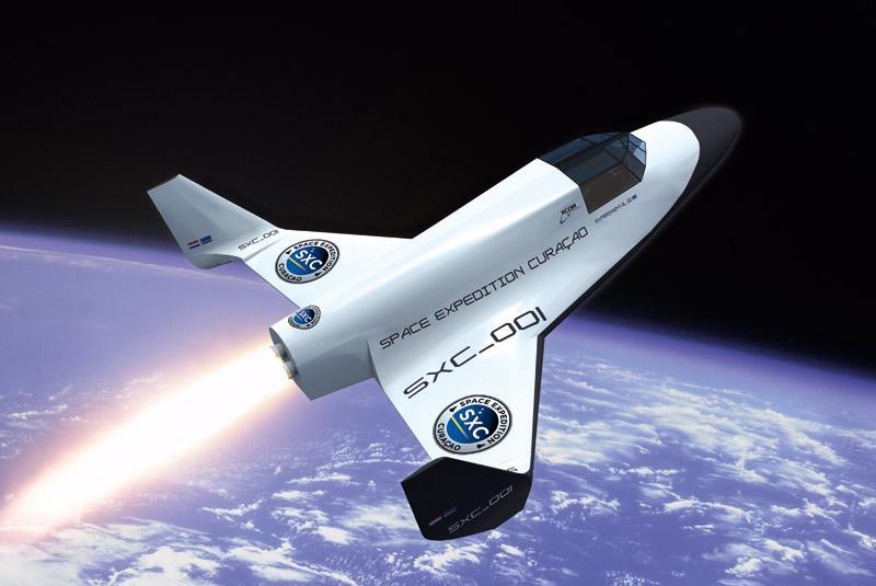 آیا می توان با هواپیما به فضا رفت؟