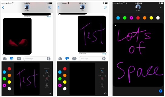 You Can Draw Animated Messages