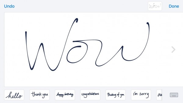 You Can Send Handwritten Notes in Messages