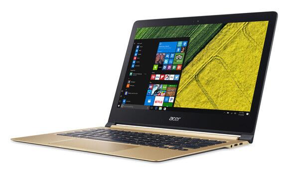 باریک ترین لپ تاپ دنیا با نام سوئیفت ۷  بالاخره معرفی شد