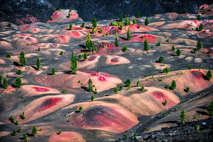 ۳۰ مکان باورنکردنی در زمین که شبیه به سیاره ای دیگر هستند
