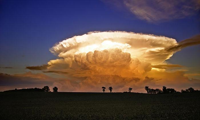 تصاویری شگفت انگیز از ابرها که شبیه به حیوانات هستند