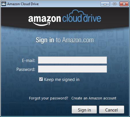 ارائه برنامه دسکتاپی Amazon Cloud Drive توسط شرکت آمازون