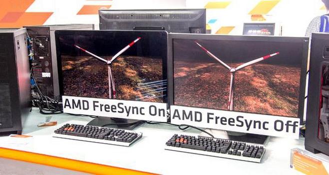 LG, Nixeus, Samsung و ViewSonic از مانیتورهایی با پشتیبانی از AMD FreeSync در CES 2015 رونمایی کردند
