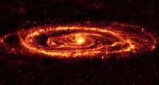 از کهکشان عجیب آندرومدا چه می دانید؟