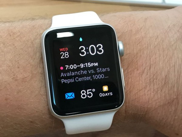 how to enable Water Lock in Apple Watch Series 2