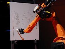 روبات نقاش