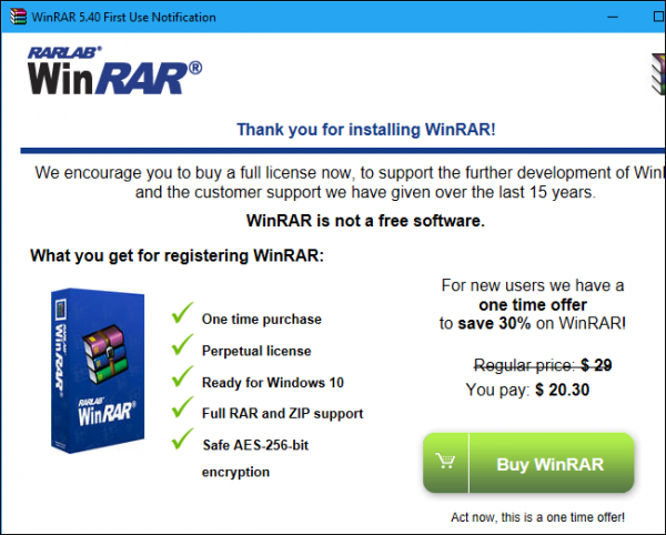 WinZip و WinRAR