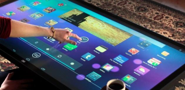 سامسونگ تبلت ۱۸.۴ اینچی اندرویدی خود را عرضه می کند