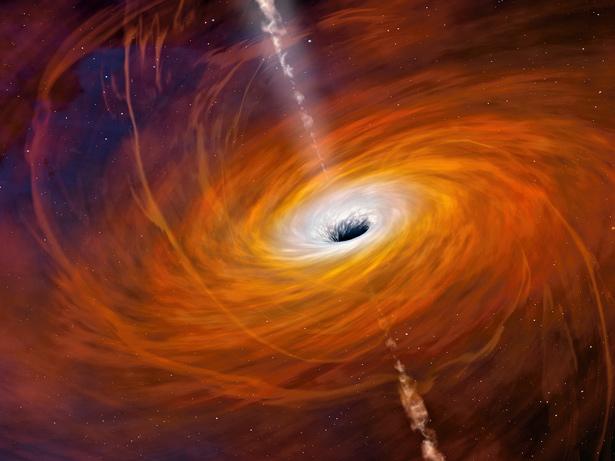 ویدئویی عجیب و دیدنی از مقیاس سیاه چاله های فضایی