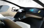 BMW پیشگام در آینده با سیستم کنترل لمسی HoloActive