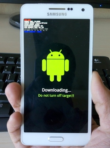 Train pressing official ROM on Samsung phones