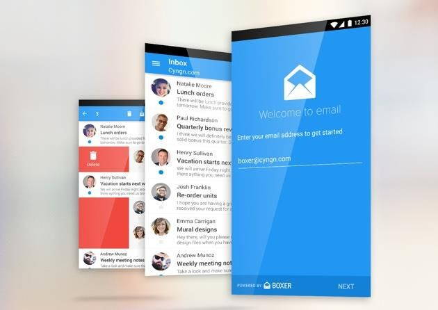 معرفی کلاینت ایمیل جدید Cyanogen