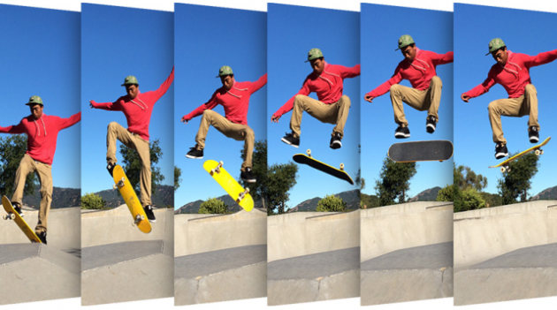 چگونه از Photo Bursts و Live Photos در ios فایل GIF بسازیم