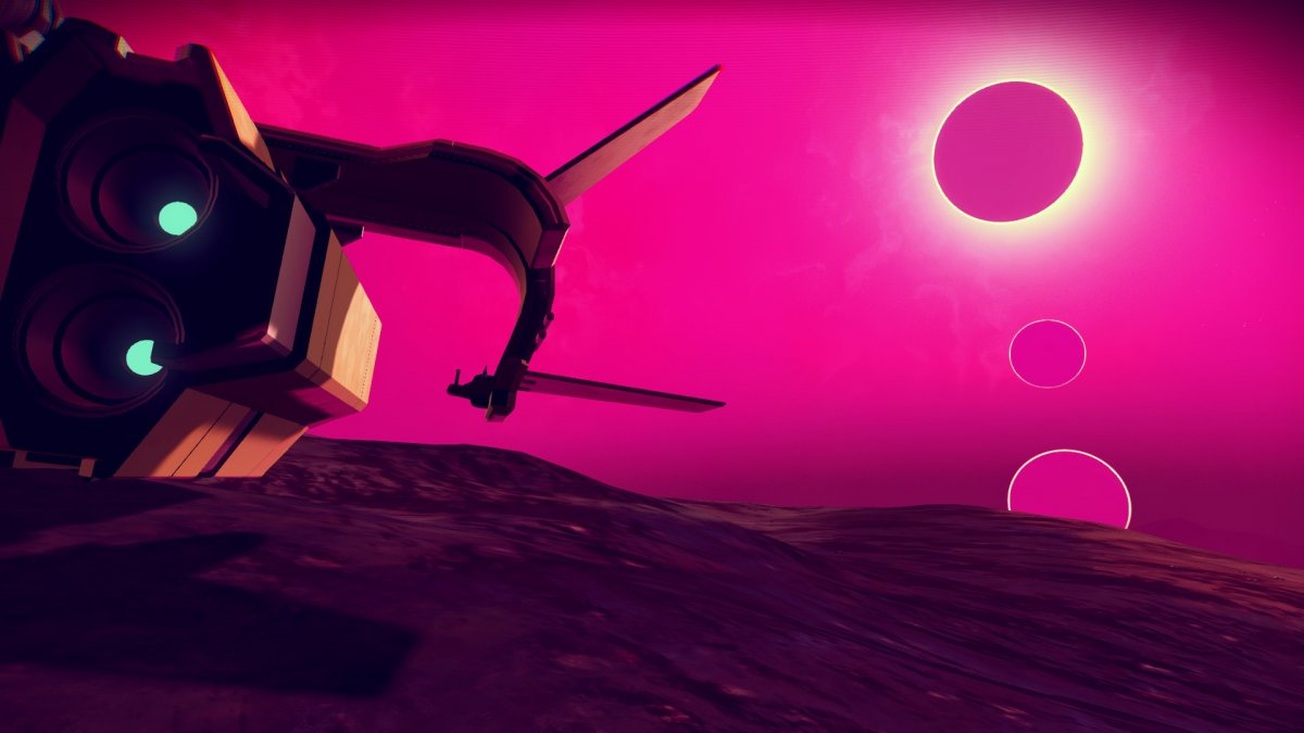 No Man's Sky finding a world thats completely alien