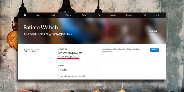 change apple id 600x300 آموزش تغییر آدرس ایمیل در Apple ID اخبار IT
