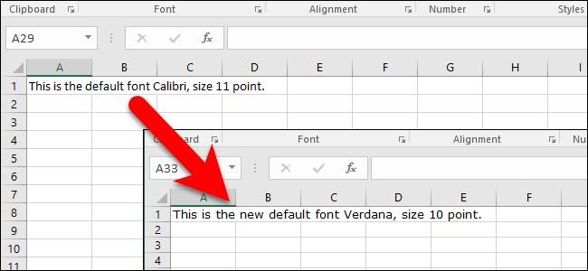 راهنمای تنظیم فونت و قلم مختلف برای شیت های مختلف