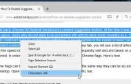 مشاهده تعداد کاراکترهای یک متن در اینترنت به کمک FireFox
