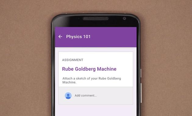 اپلیکیشن Classroom گوگل برای دانش آموزان کم دقت