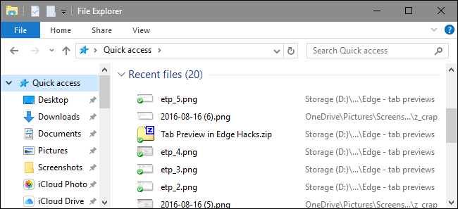 آموزش پاک سازی File Explorer Recent Files در Windows 10