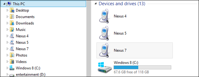 رفع مشکل عدم نمایش دستگاه اندرویدی در My Computer
