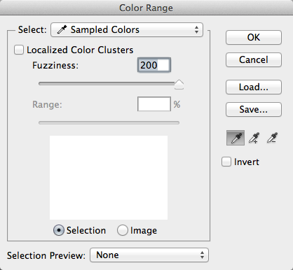 Photoshop-Color Range