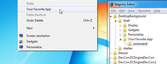 Context Menu-Shortcuts-Header