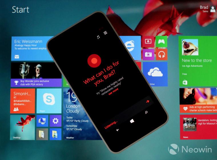 """مایکروسافت """"پلتفرم توسعه Cortana"""" را منتشر کرد، به برنامه نویسان دست یاری داد"""