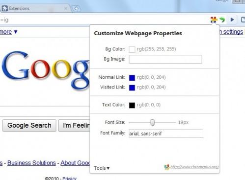 سفارشی کردن رنگ و فونت صفحات اینترنت در گوگل کروم