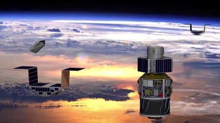 ماهواره چمدانی برای پیش بینی طوفان