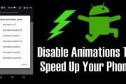 آموزش غیرفعال کردن انیمیشنها برای افزایش سرعت و عمر باتری در اندروید