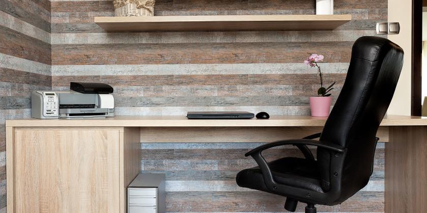 ۹ پروژه چوبی زیبا برای دفتر کار خانگی شما