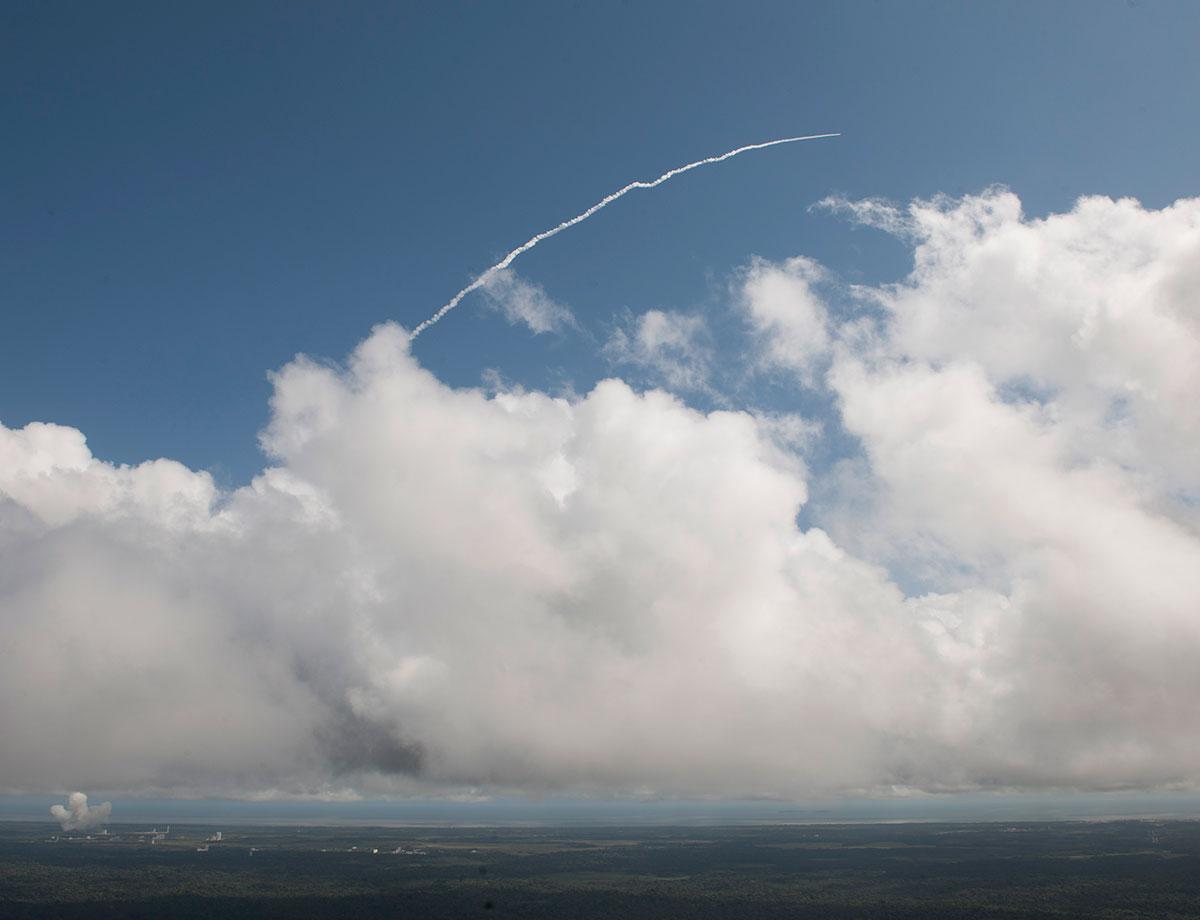 آزمایش بازگشت مجدد فضاپیما به زمین با موفقیت انجام شد