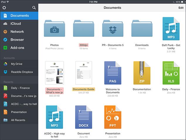 ۱۰ کاری که میتوان با برنامه Document برای iOS انجام داد