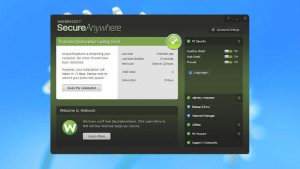 Webroot SecureAnywhere AntiVirus